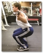Exercise Barbell Squats Technique