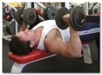 Exercise Dumbbell Flat Bench Presses Technique